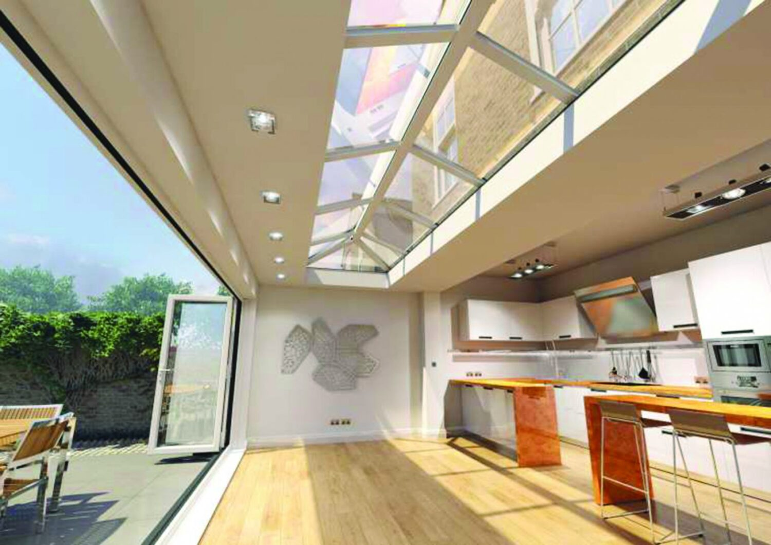 Skypod Roofing from JSS Installations