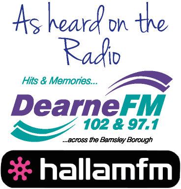 As heard on Dearne FM & Hallam FM
