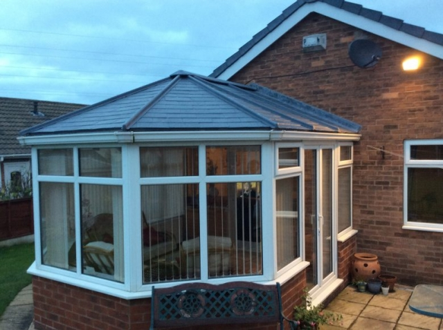 Optiplas Conservatory Roof from JSS Installations