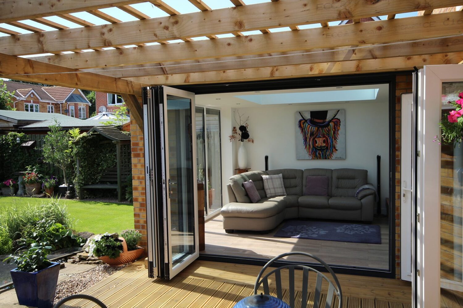 Bi-fold Doors from JSS Installations